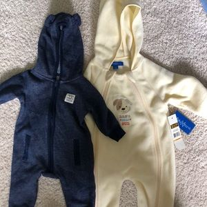 Other - Baby boy winter bodysuits 3 months bunting